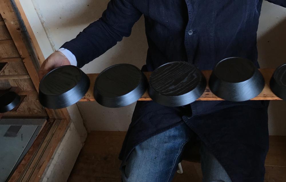 World_of_Ryuji_Mitani_Nalata_Journal_Urushi_Bowls_Drying